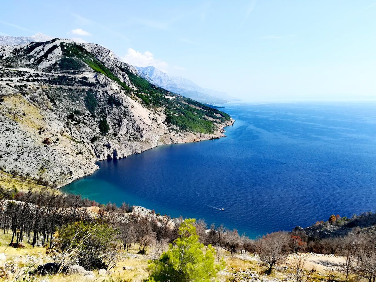 Blick aufs Meer in Kroatien