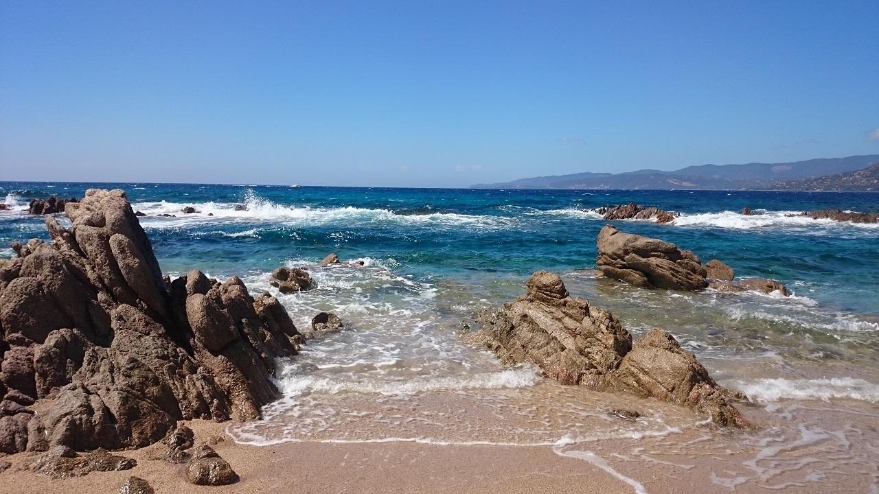 Capu de Laurosu Propriano Korsika Strand