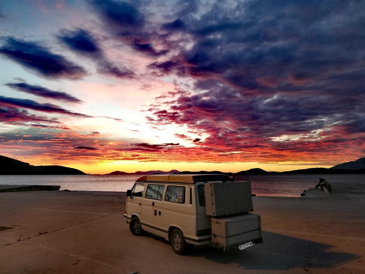 Sonnenuntergang Igoumenitsa