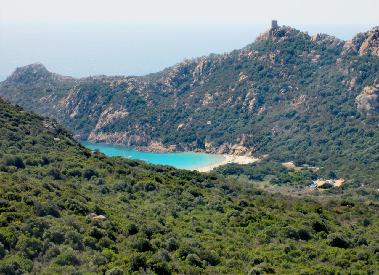 Roccapina Strand Korsika