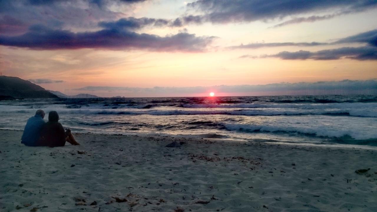 Sonnenuntergang l'Ostriconi Korsika