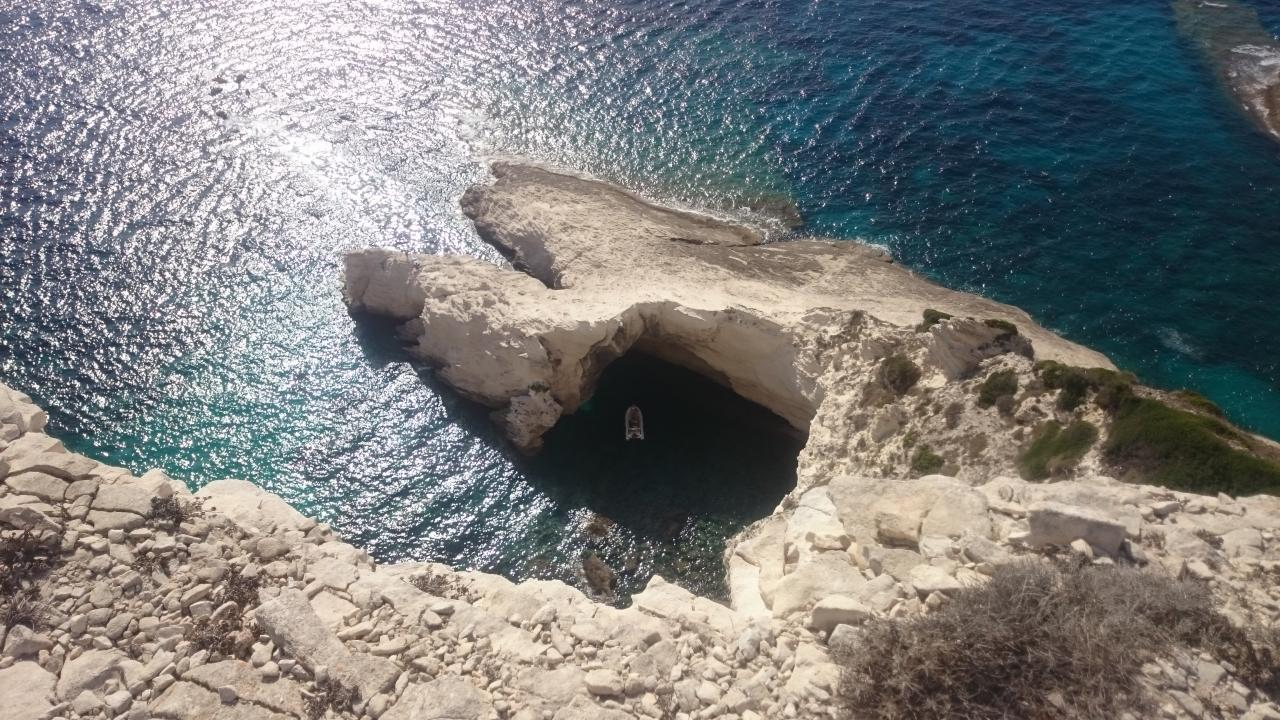 Bonifacio Bucht Boot Korsika
