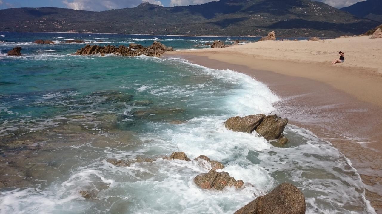 Strand Propriano Korsika