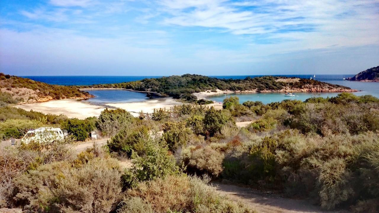 Bucht Rondinara Korsika