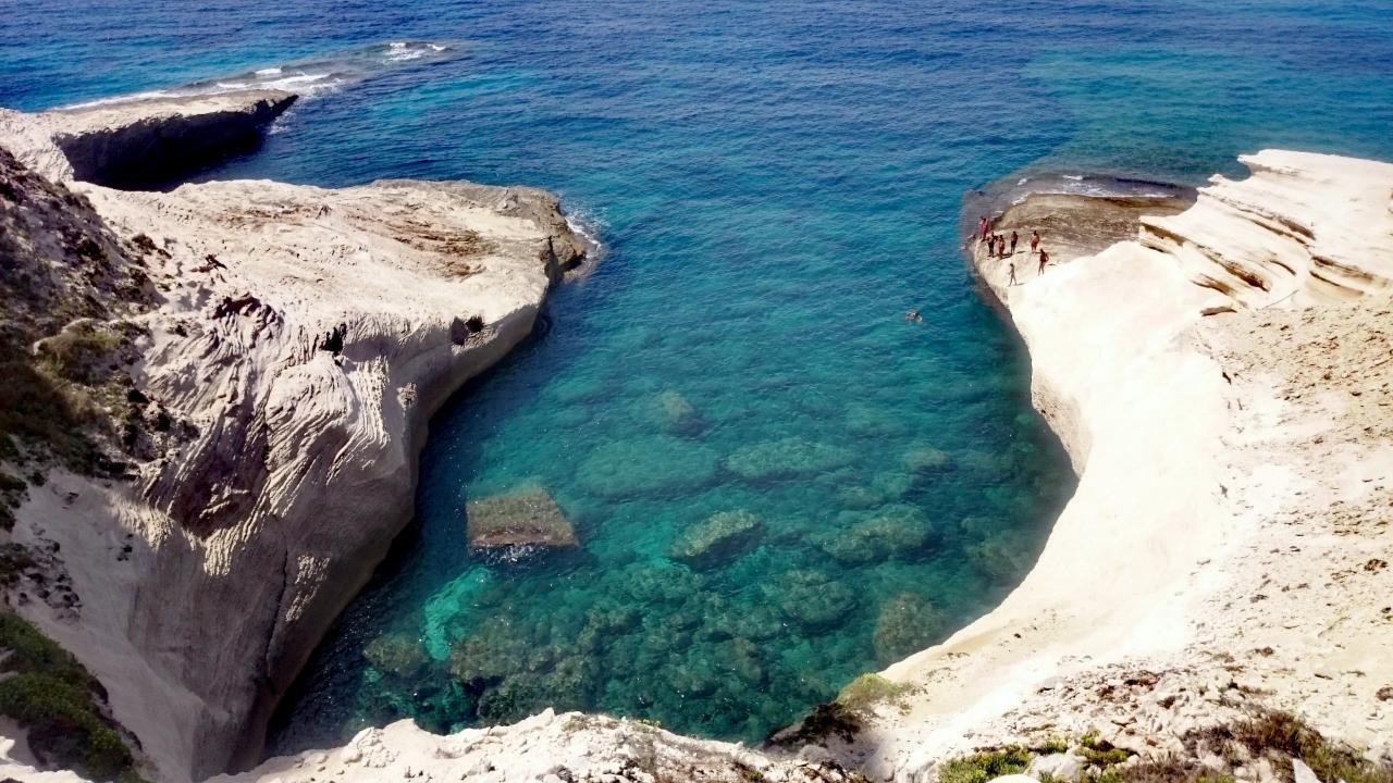 Bonifacio Bucht Korsika