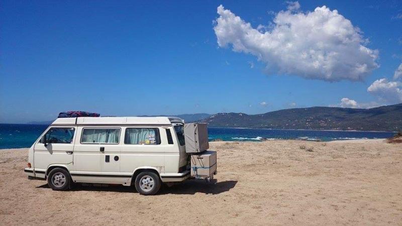 Autostrand Propriano Korsika