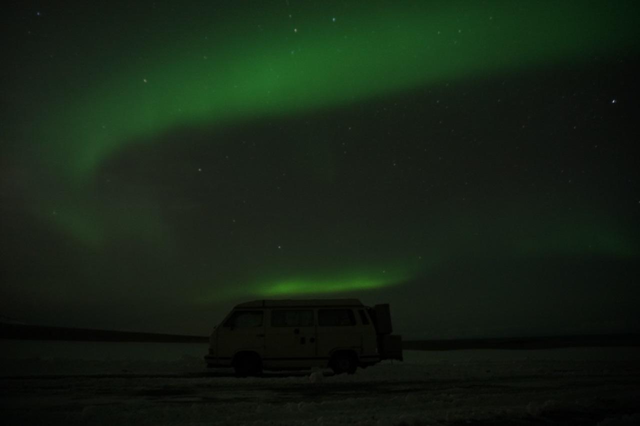 Polarlichter VW T3