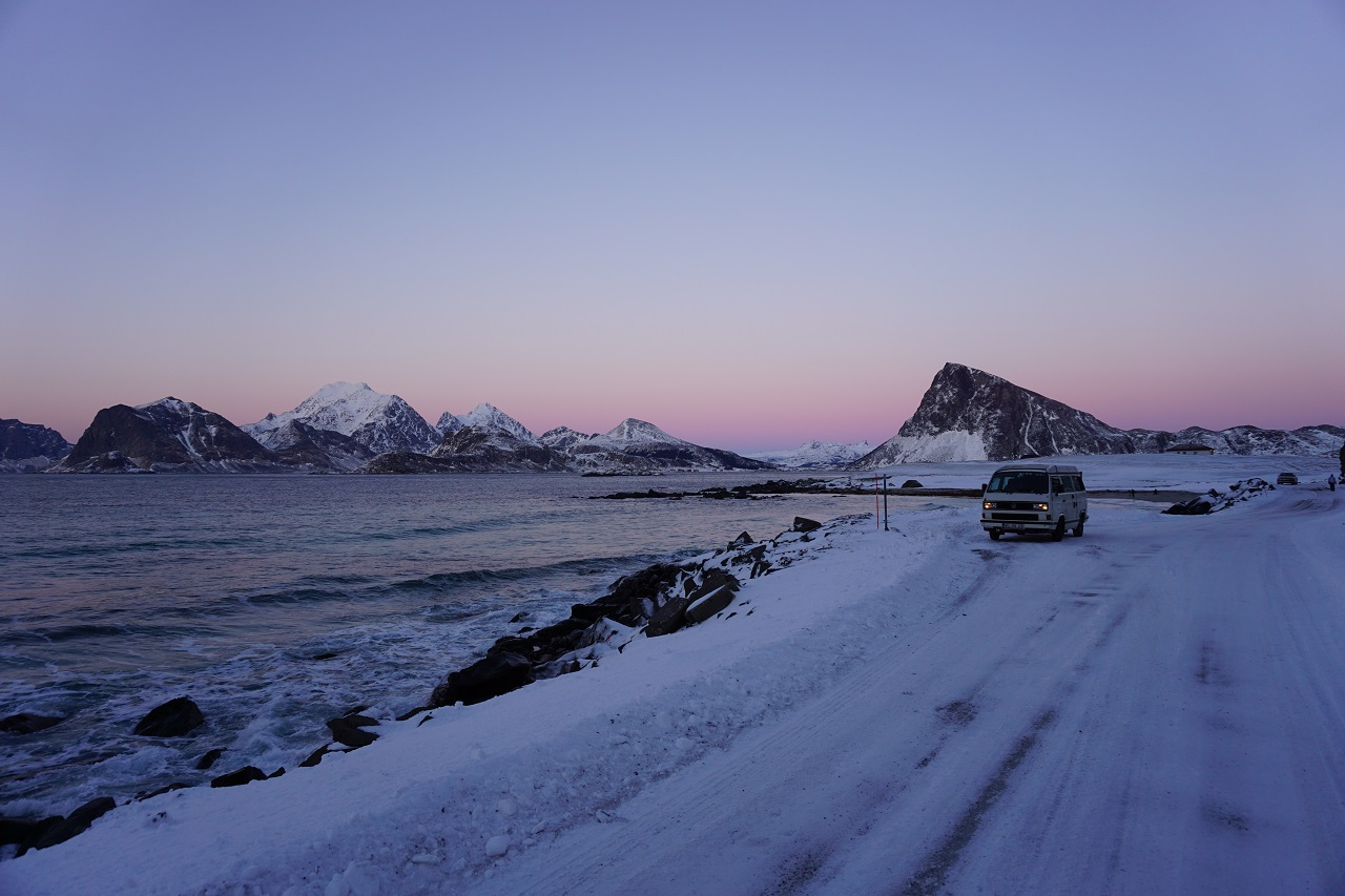 Winter in Lofoten VW T3