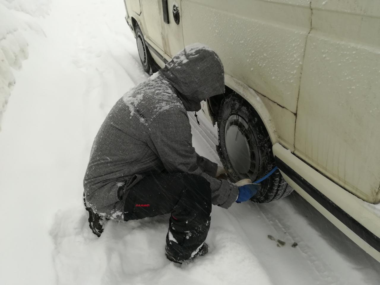 Schneeketten VW T3 Camper