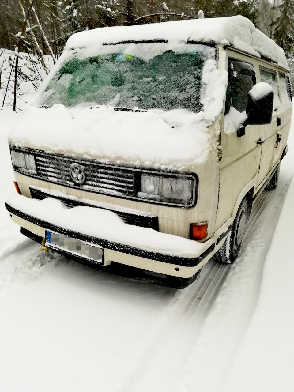 VW T3 Winter