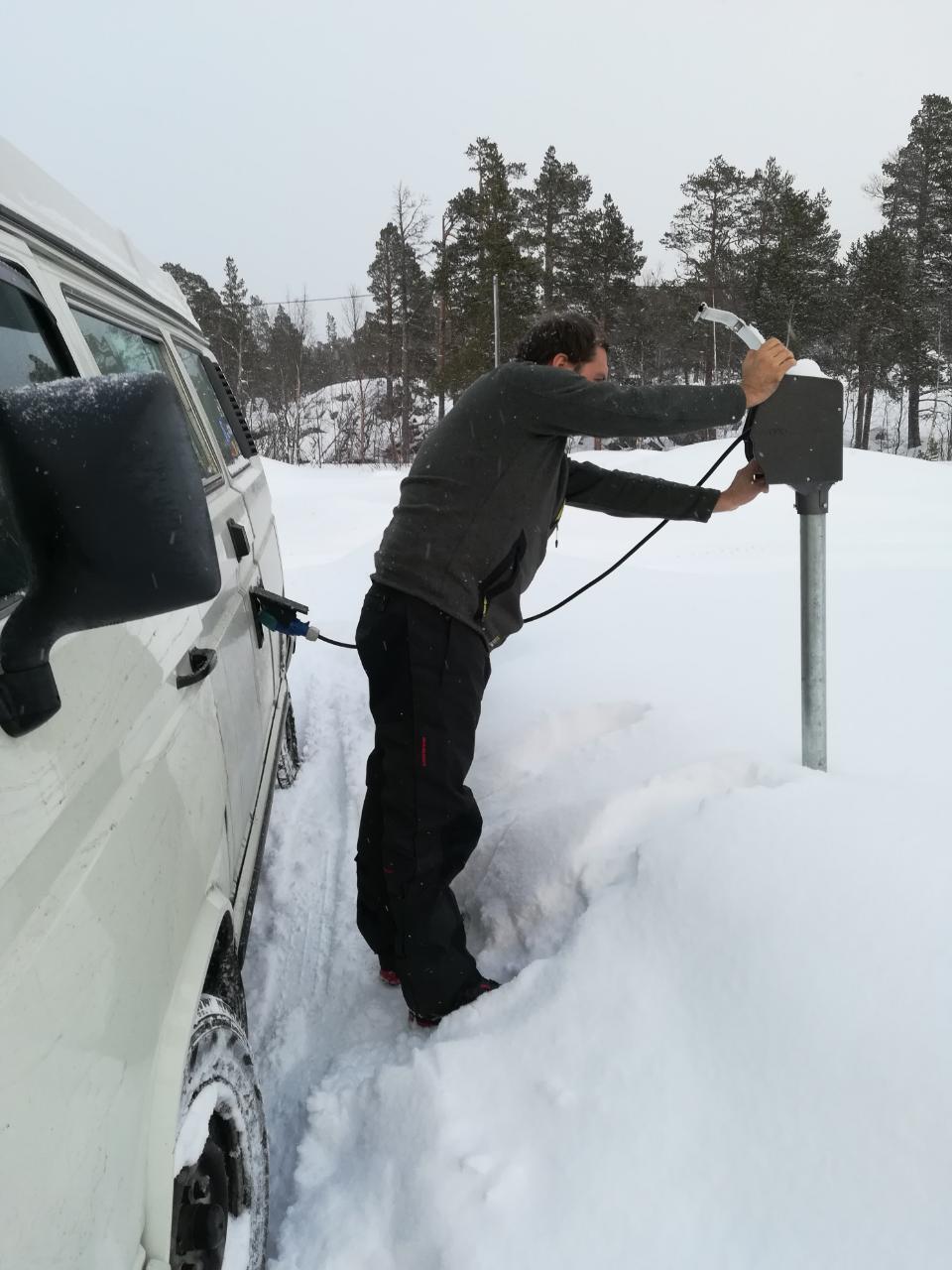 Stromdose in Lappland