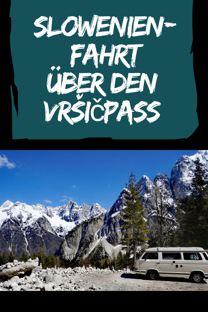 Vrsicpass Slowenien