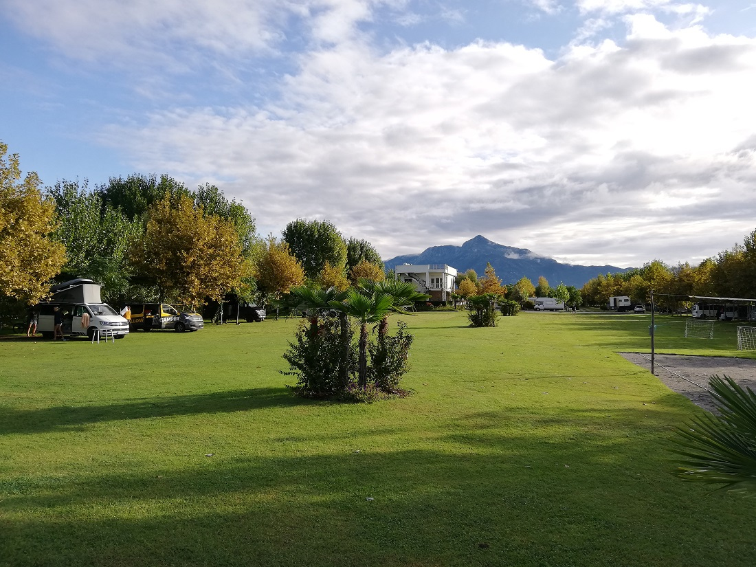 Campingplatz Lake Shkodra Resort in Albanien