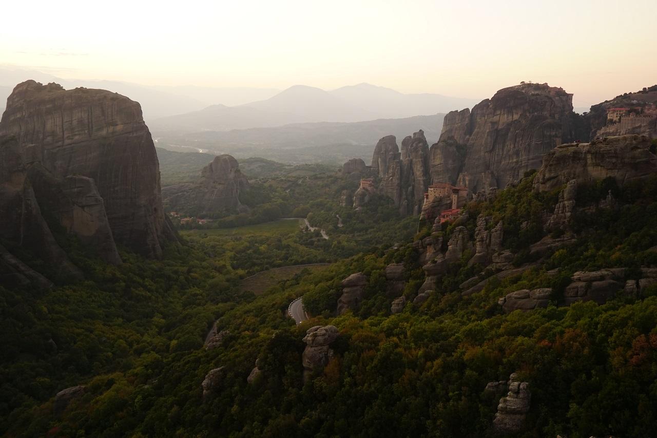 Meteora Felsen Griechenland