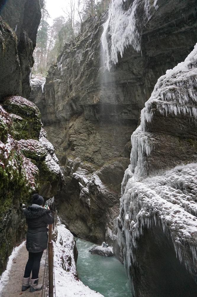 Partnachklamm im Winter