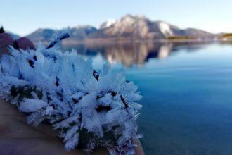 Eiskristalle am Walchensee