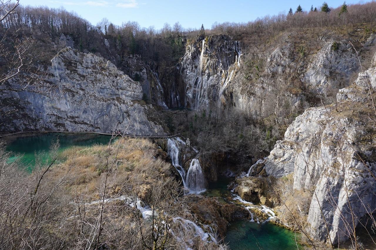 Plitvicer Seen von oben