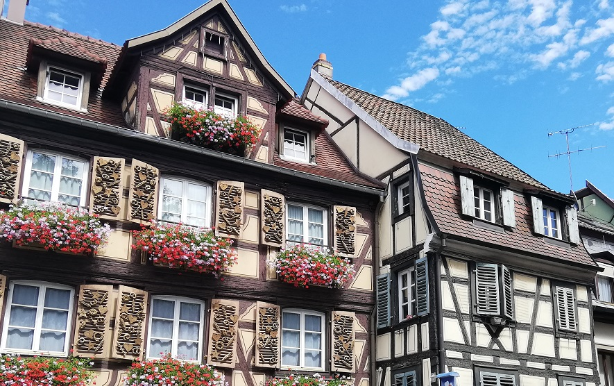 Fachwerkhäuser Colmar