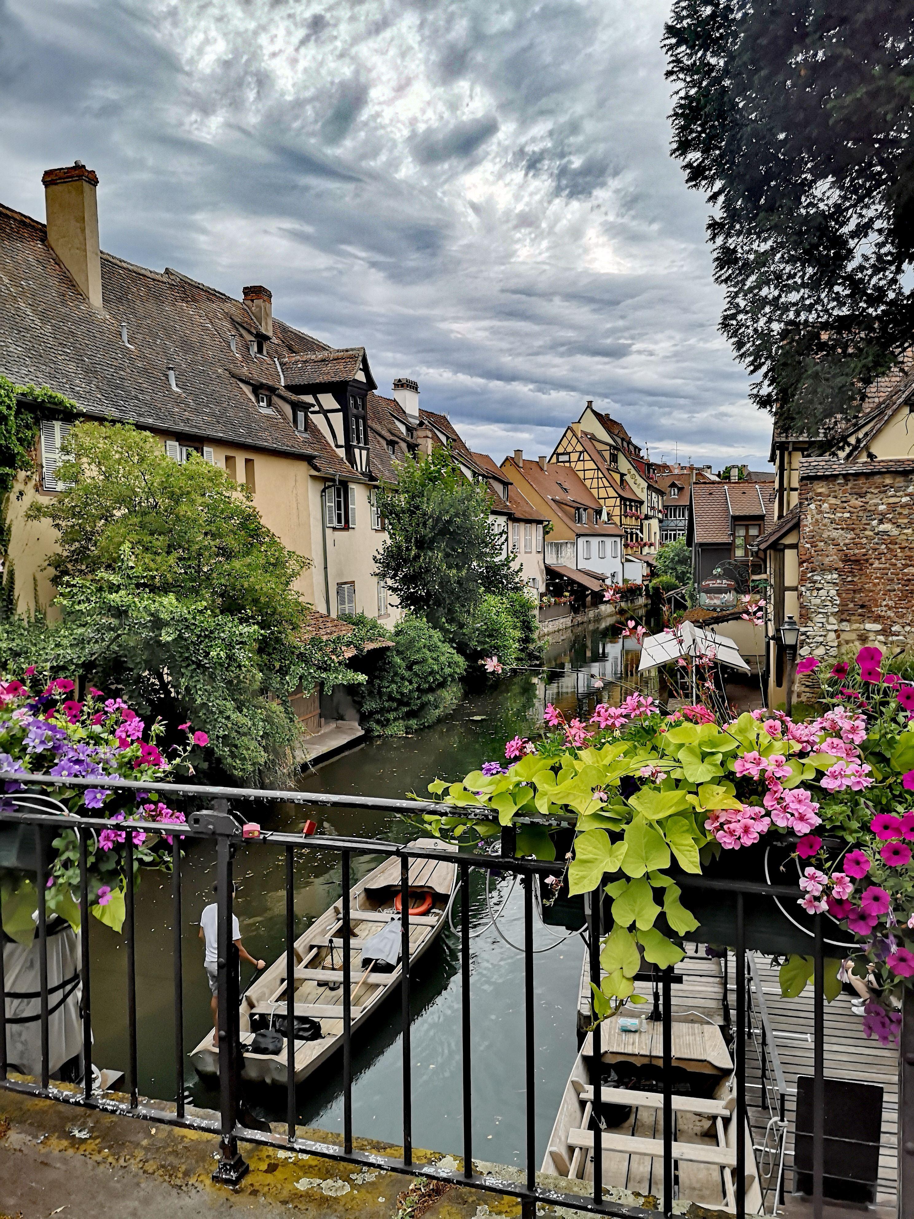 Colmar - Blick auf den Kanal