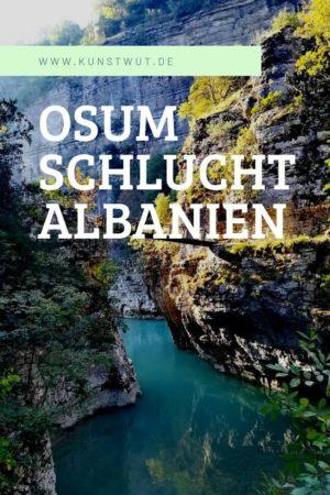 Osum Schlucht Albanien