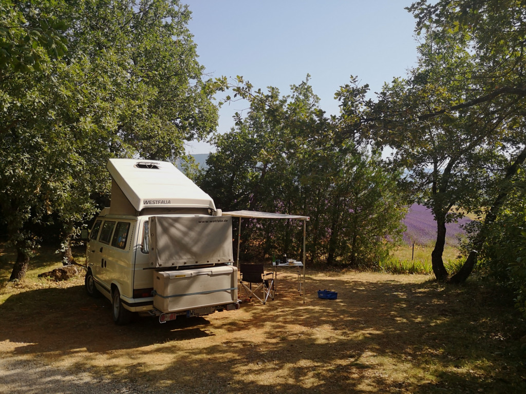 Campingplatz Le Jas du Moine bei Sisteron