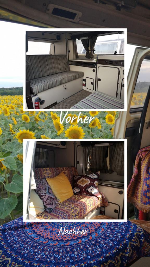 Vorher-Nachher Campervan VW T3 Syncro