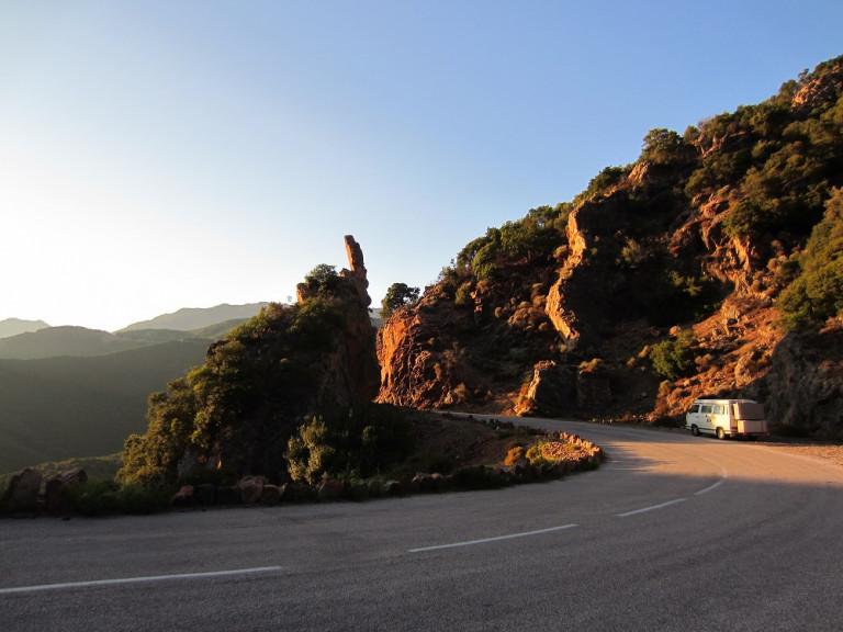 Korsika das erste Mal – Westküste D81b Küstenstraße bis Porticcio