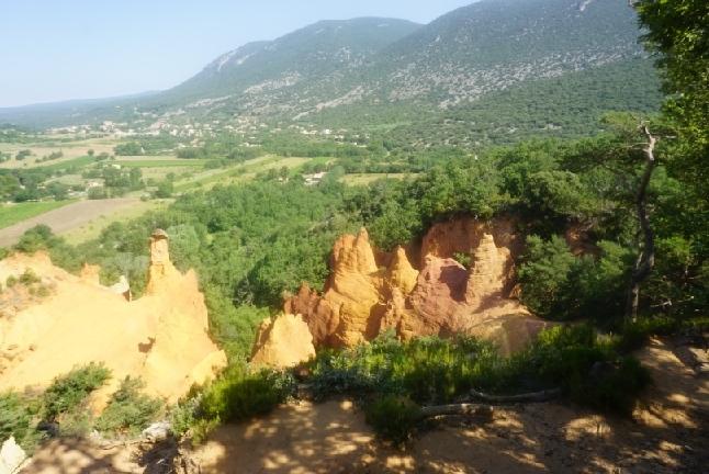 Belvedere Rundweg Provence Rustrel Colorado