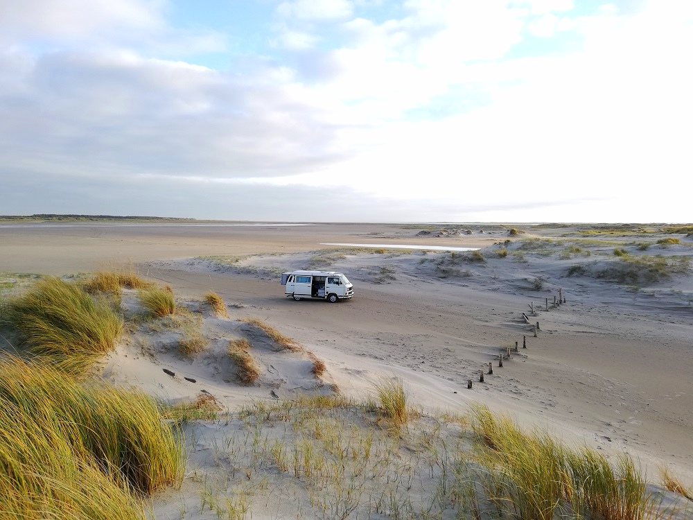 Mega Touren für Camper Anfänger in Europa am Meer