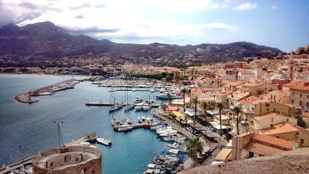 Calvi Korsika Hafen