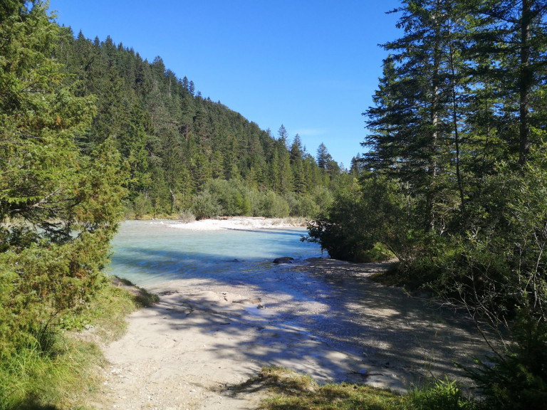 Naturcampingplatz Mittenwald Isarhorn – Camping an der Isar