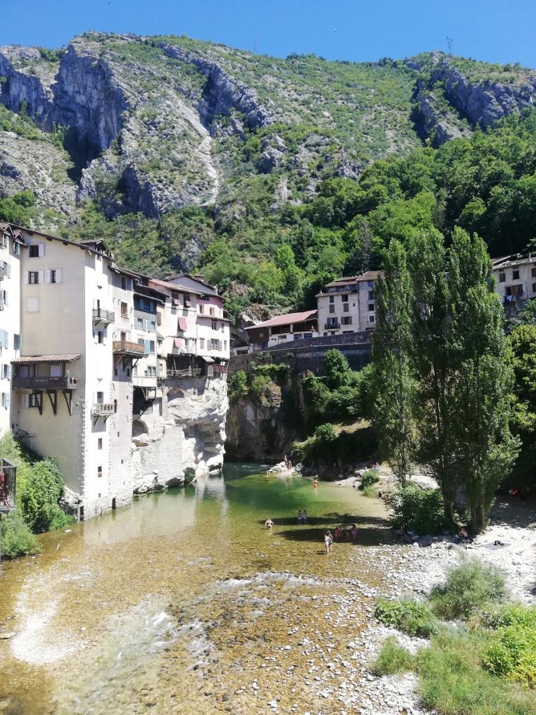 Pont-en-Royans Frankreich RHone ALpes