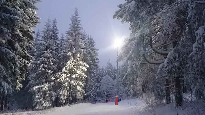 Wasserkuppe Rhön im Winter