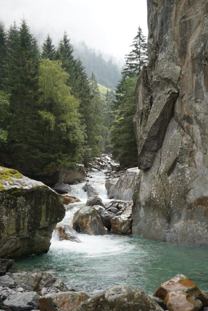 Ewige Jagdgründe Zillertal Bouldern Österreich