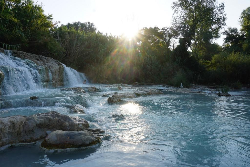 Toskana Quellen Cascate