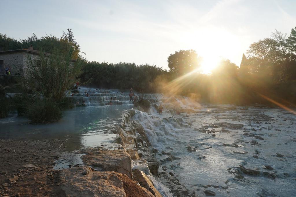 Saturnia Thermalquellen Italien