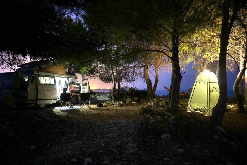 Camping Packliste Sommer VW T3 wildcampen