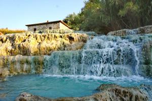 Toskana Italien Thermalquellen