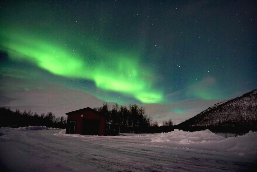 Polarlichter in Schweden Naturerlebnisse