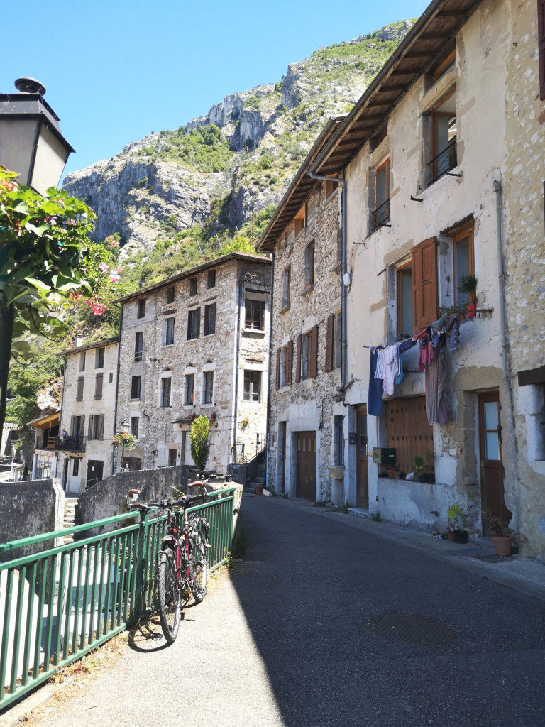 Gasse Pont-en-Royans Drome Alpes