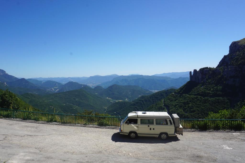 col de rousset VW t3 Gebirgspass Alpen