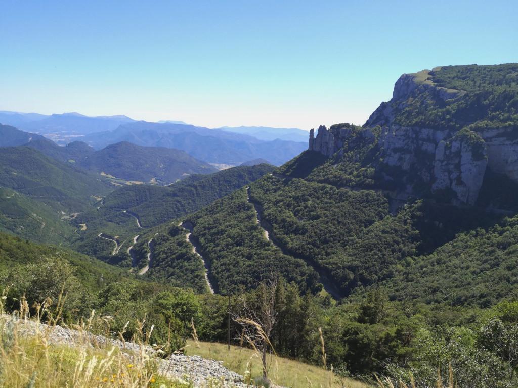 Col de Rousset Frankreich Vercors Vanlife