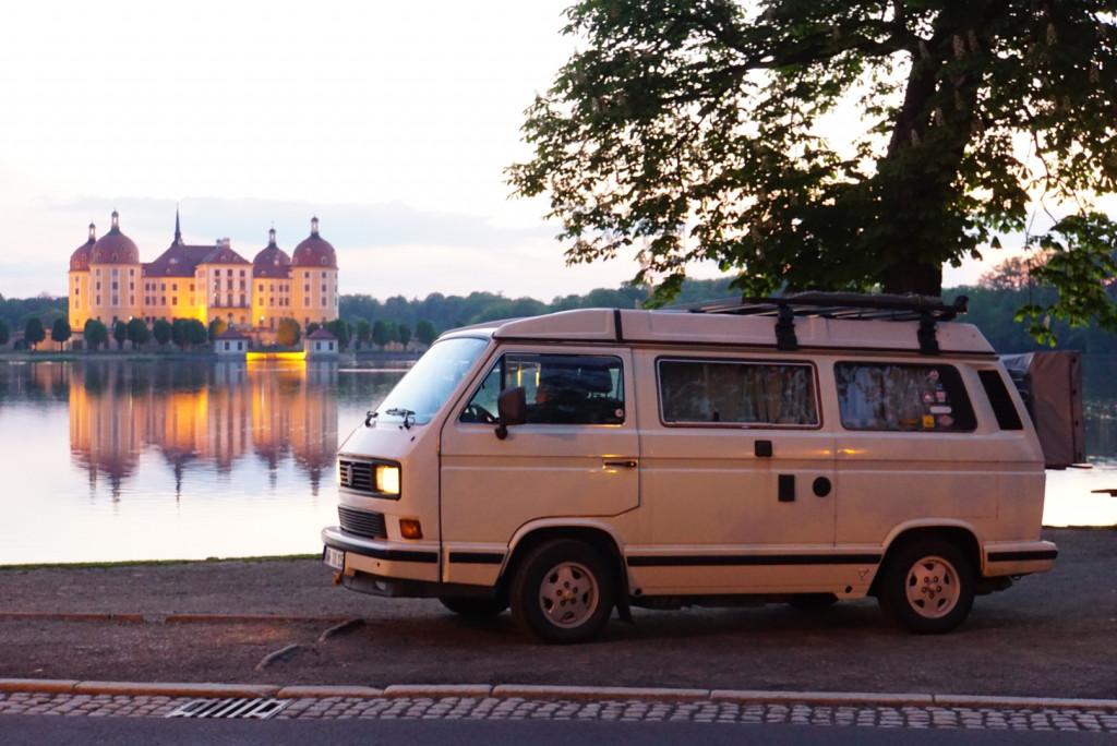 Moritzburg Sachsen VW T3 Bullitour