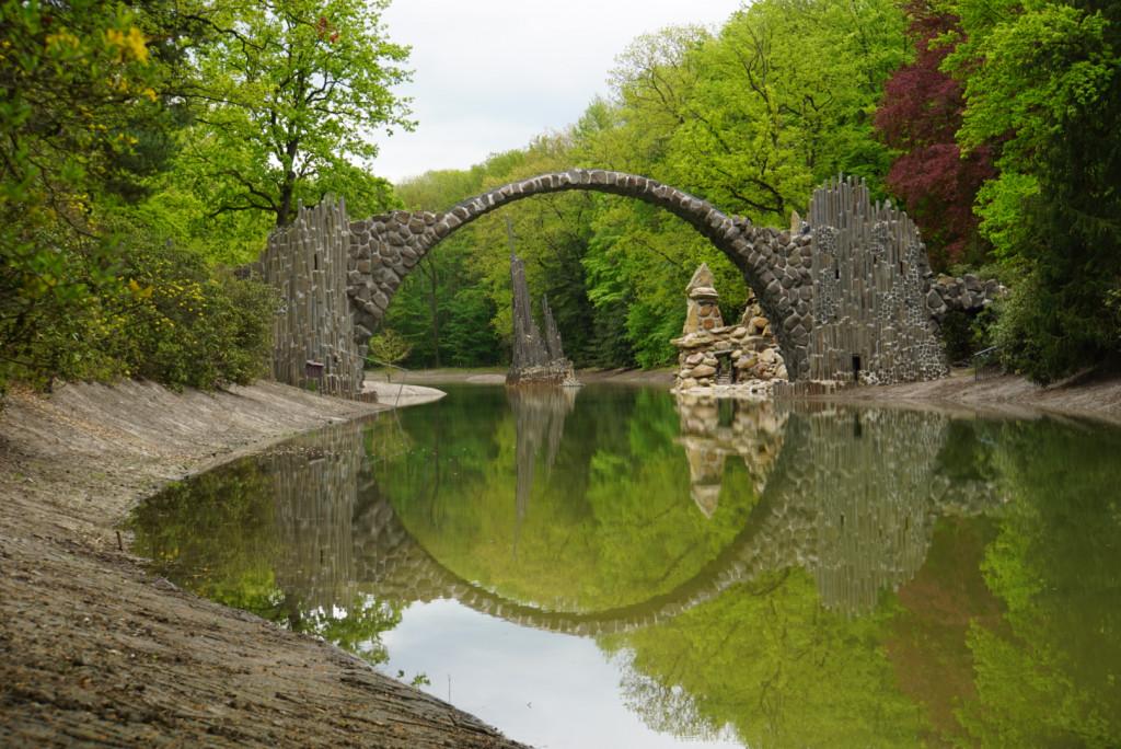 Rakotzbrücke Deutschland Roadtrip Fotospot