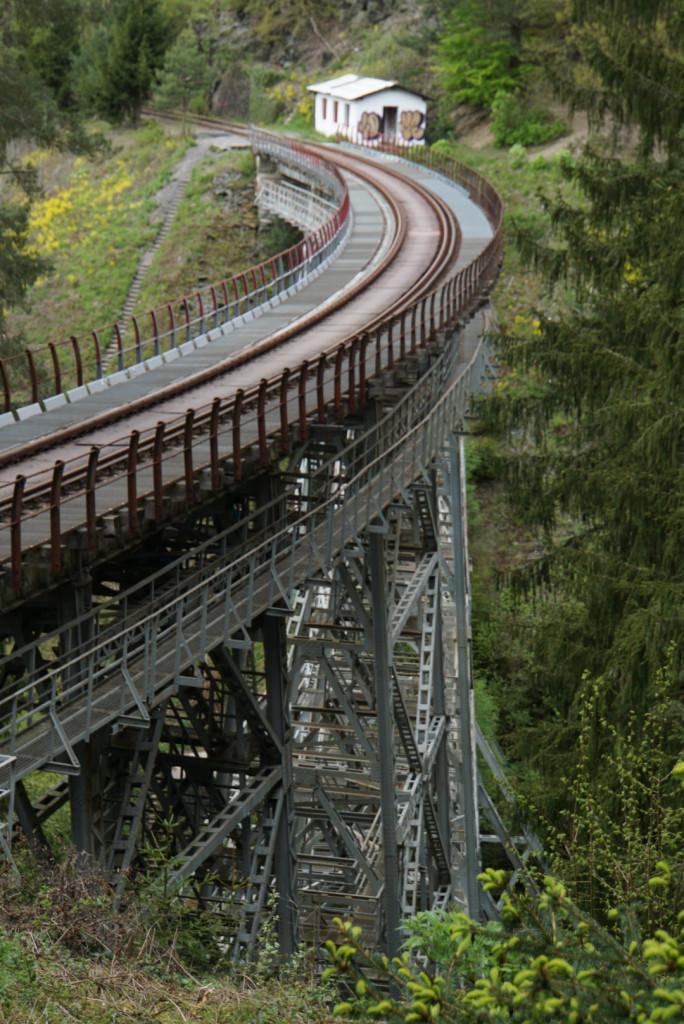 Ziemestalbrücke Vogtland Sachsen Roadtrip Bulli