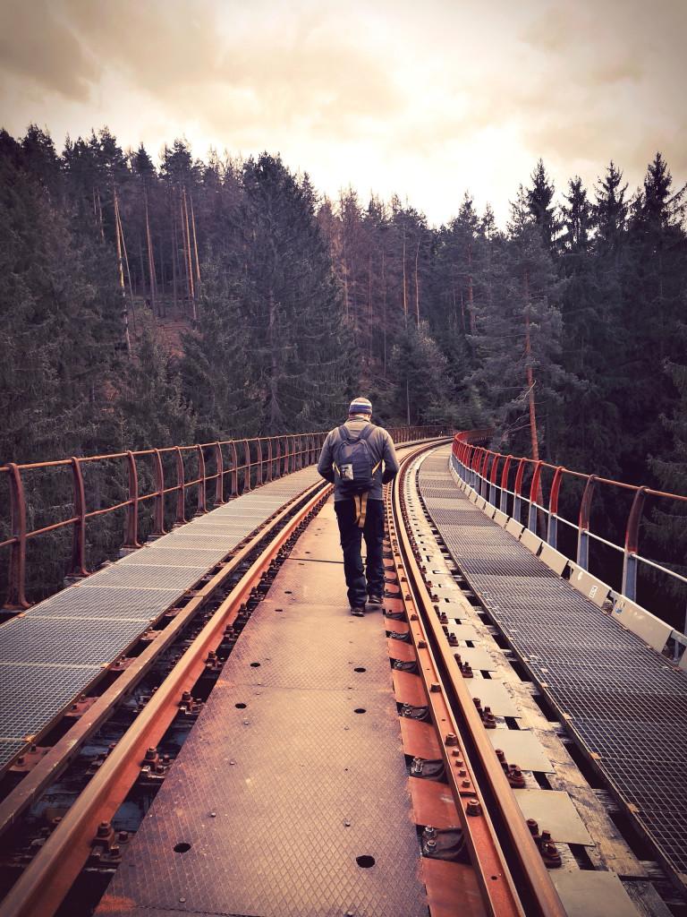 Ziemestalbrücke Vanlife Vogtland Fotospot