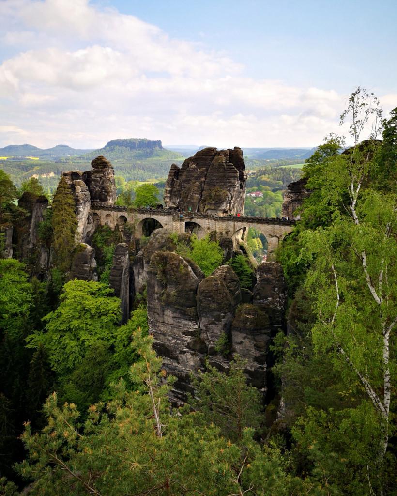 Sächsische Schweiz Sandstein VW Bus Tour